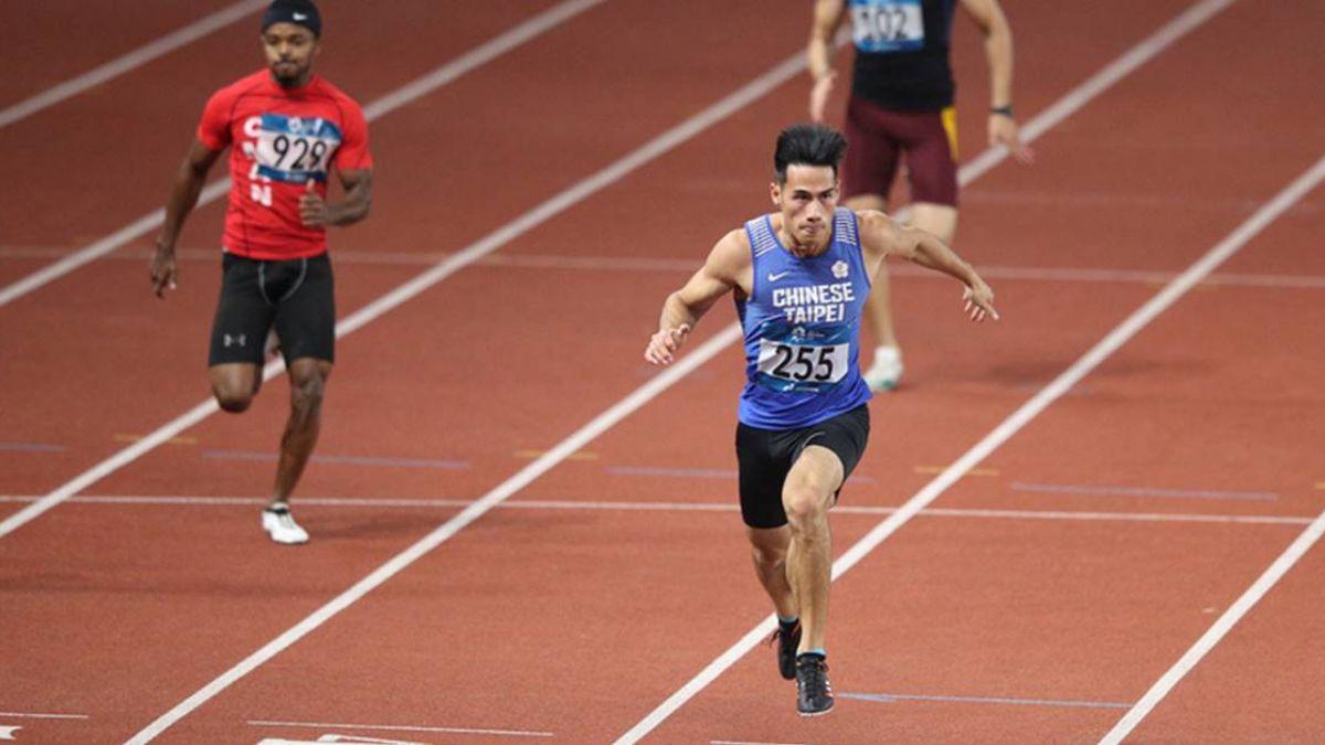 台灣最速男楊俊瀚 男子100公尺輕鬆晉級