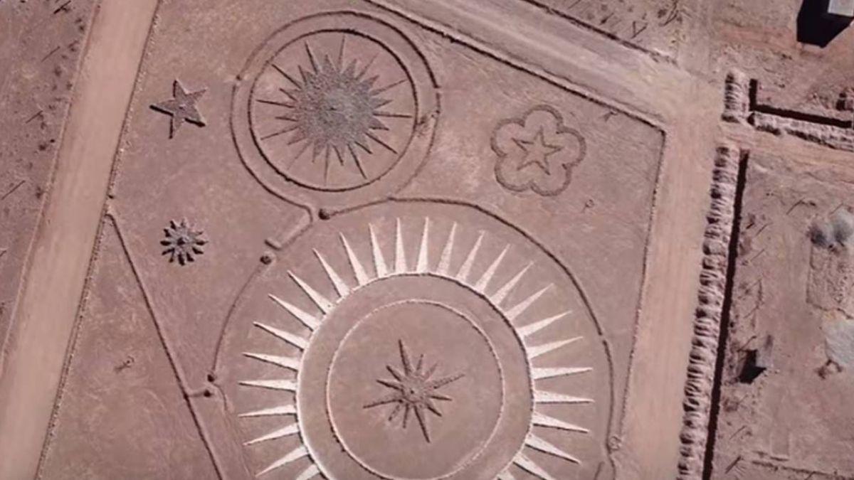 和外星人心電感應!瑞士男沙漠蓋幽浮機場:「它們」的命令