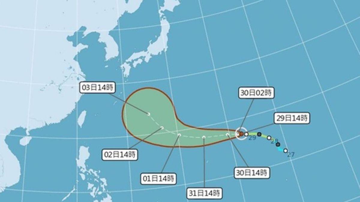 燕子恐成強颱!是否影響台灣? 氣象局給答案了