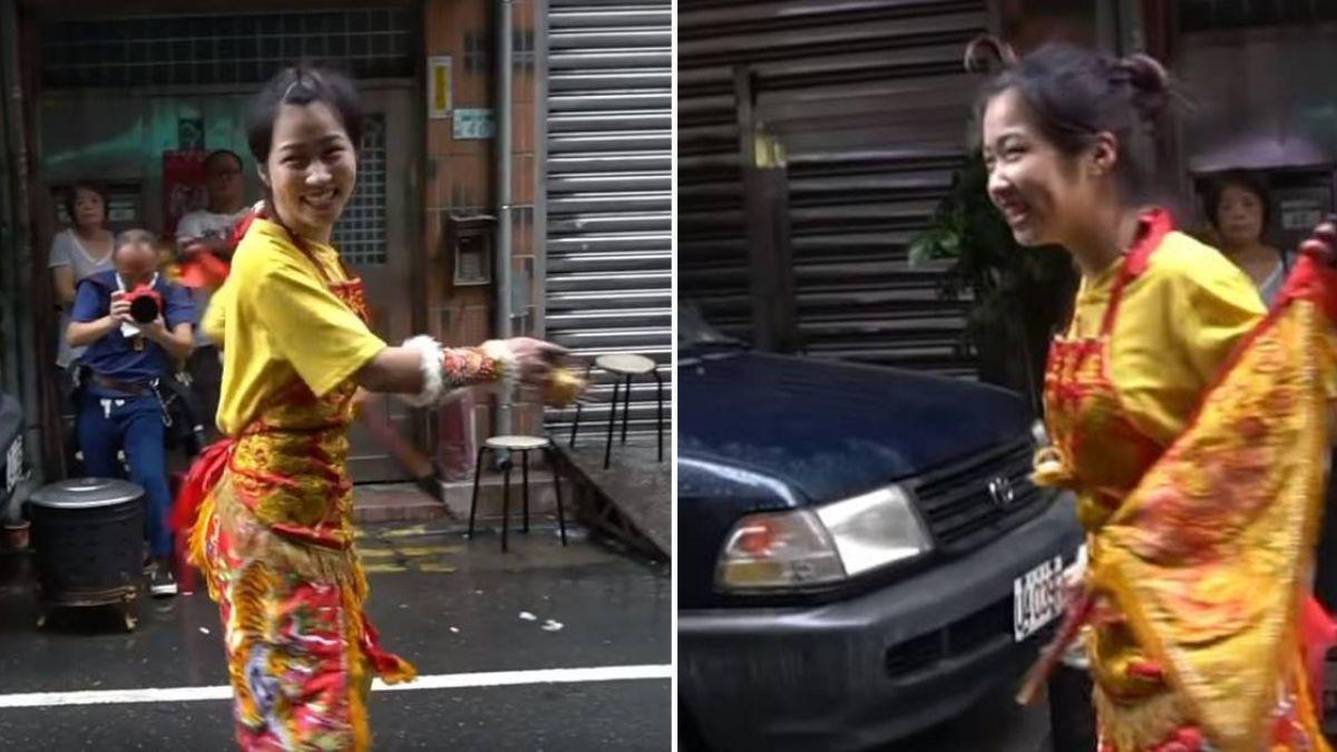 玩性爆發!蓮花太子淋雨跳舞「我跳比較帥」 狂吸12萬人朝聖