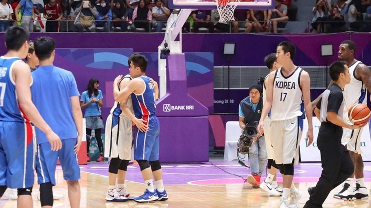 亞運男籃 中華隊不敵南韓第4作收