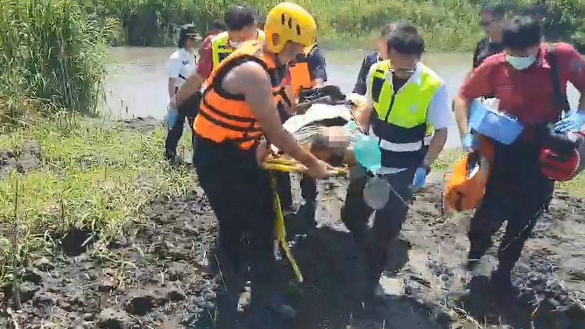 搭動力傘墜蘭陽溪!男子被尋獲無生命跡象