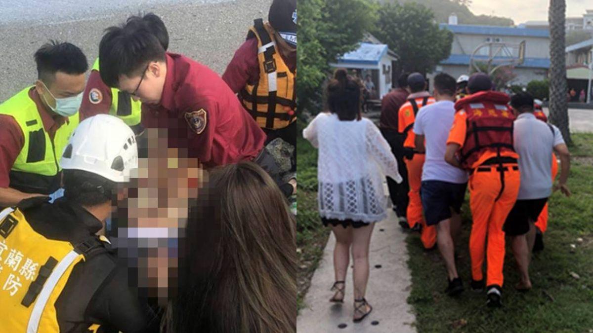 目擊8歲女童落海…英勇男跳海搶救卻慘遭滅頂 女友醫院淚崩