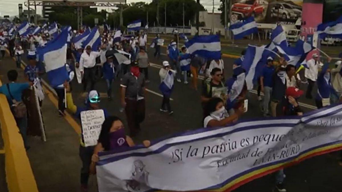 尼加拉瓜持續動盪 反政府示威2人遭槍擊