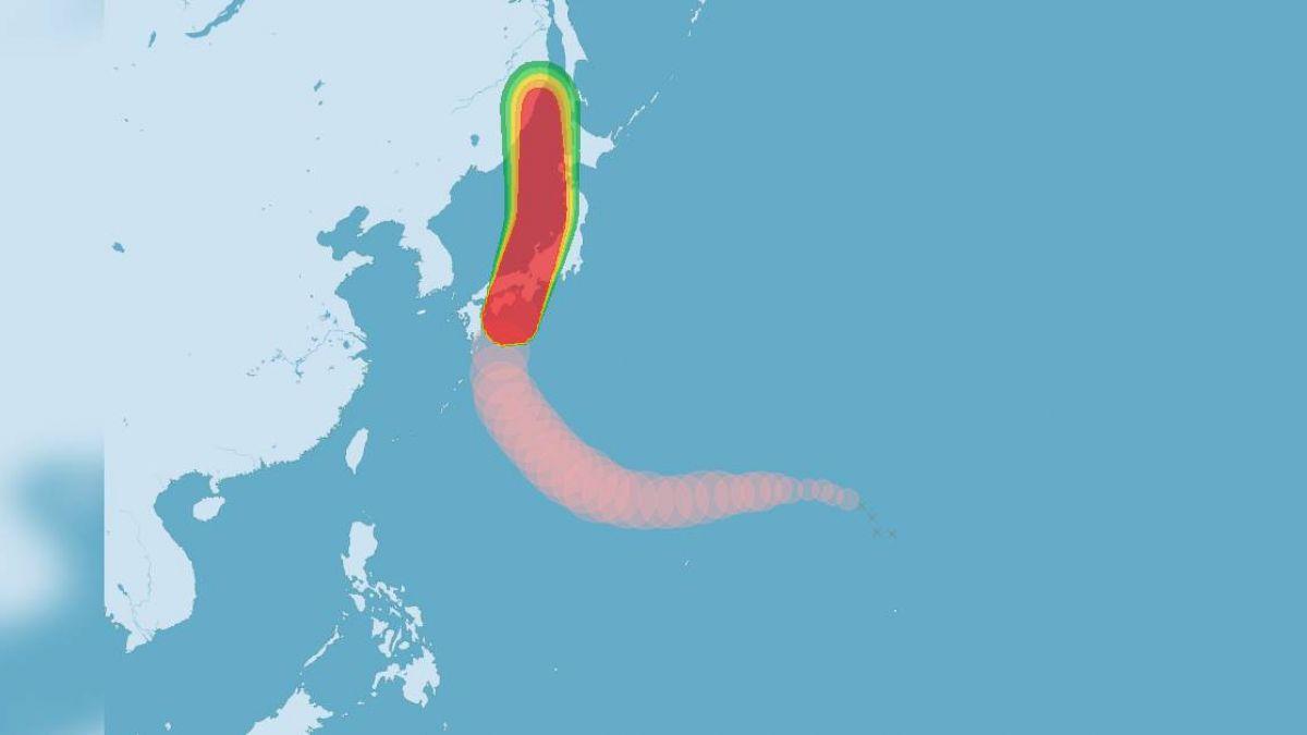 颱風燕子25年來最強 日本如臨大敵
