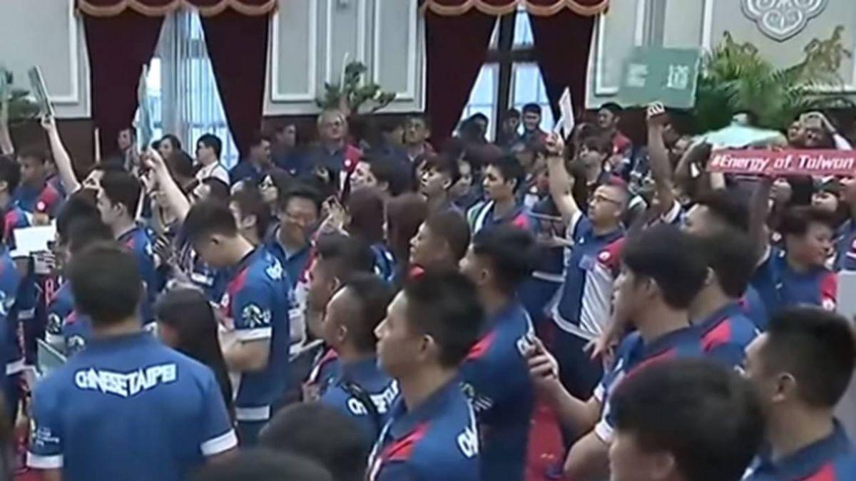 亞運奪17金!總統:感謝你們讓世界看見台灣