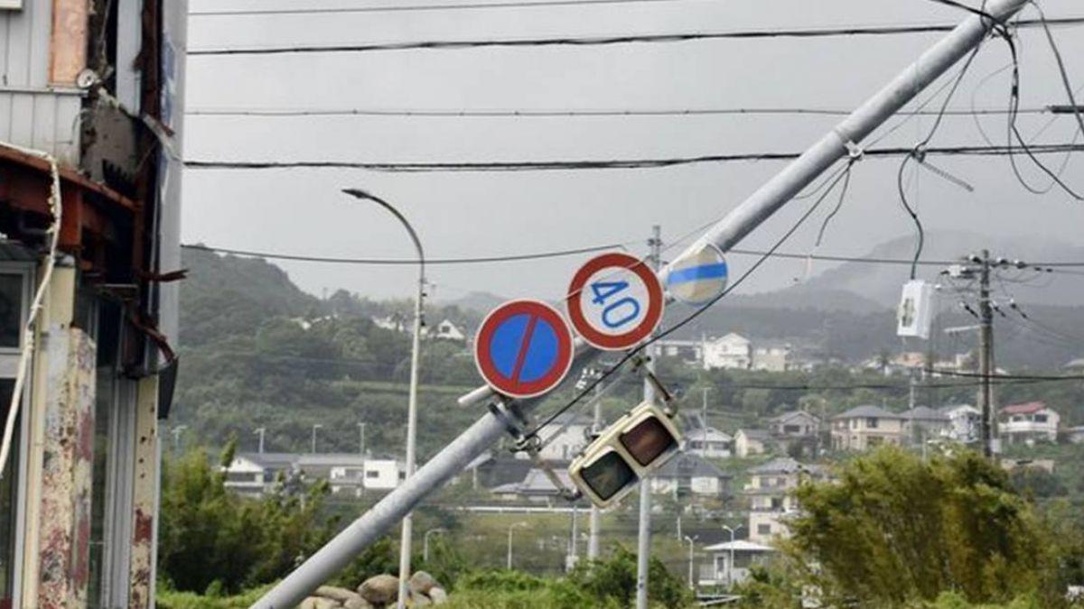 強颱燕子橫掃日本關西!至少7死逾百人傷