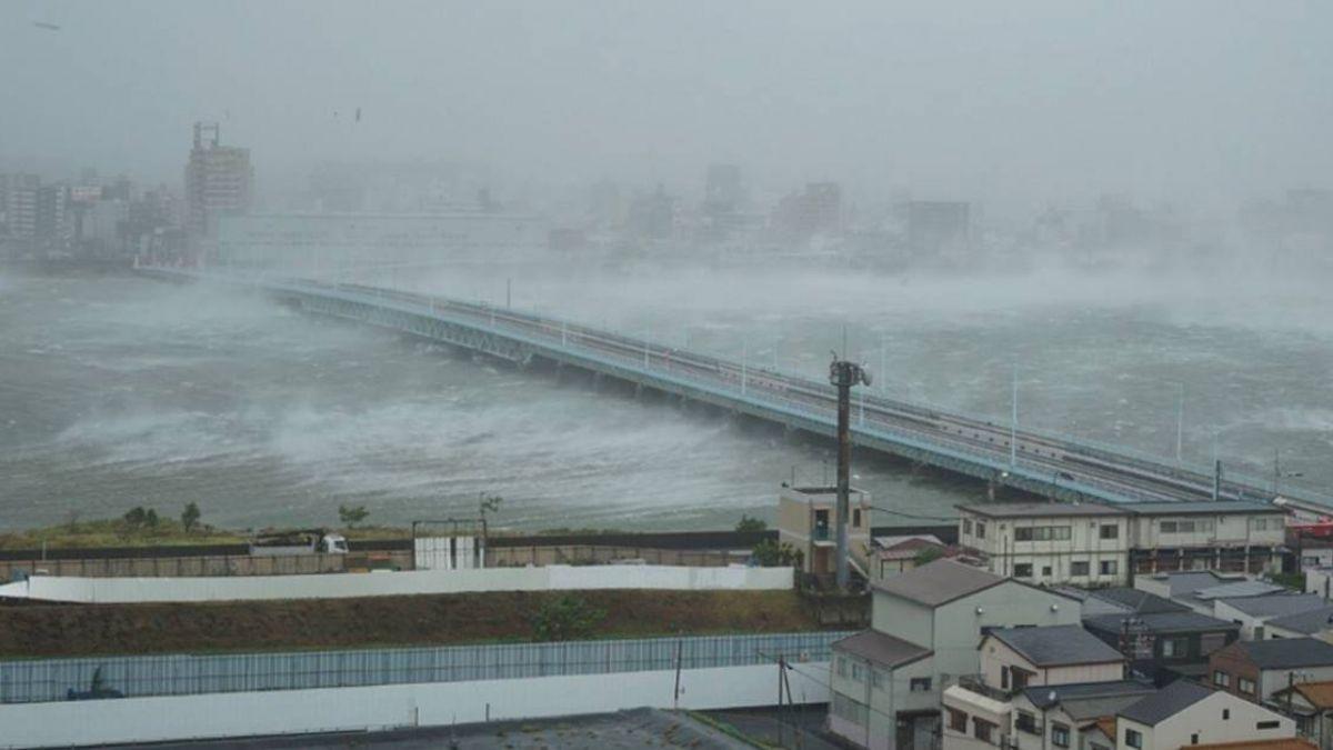燕子颱風掠過本州出海  至少7死177傷