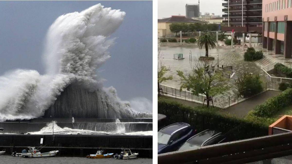 閃過台灣!燕子重創日本釀9死340傷 氣象局揭密