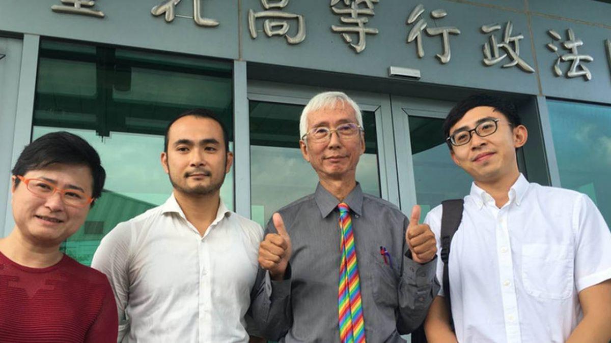 祁家威聲請停止執行愛家公投 行政法院開庭