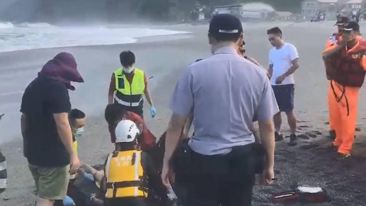 宜蘭海上發現浮屍 證實為神秘沙灘失蹤者