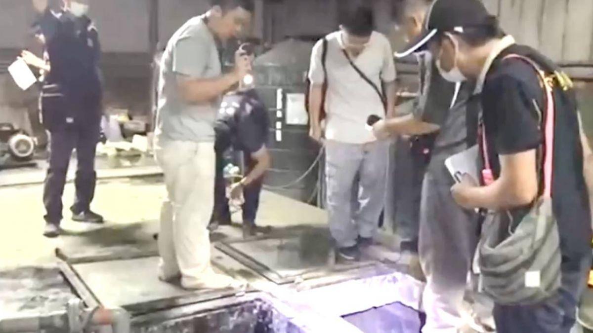太惡劣!彰化皮革廠半夜偷排廢水 重金屬鉻濃度超標12倍