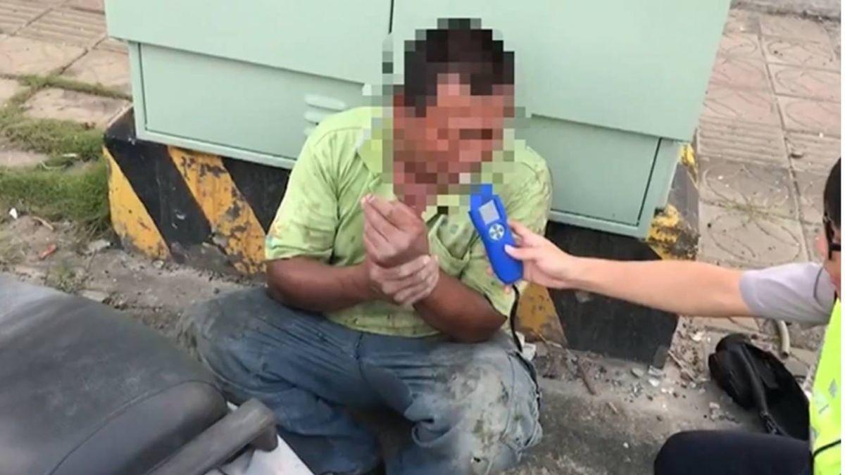 酒駕的代價!男躲警不成被罰款…還摔斷手