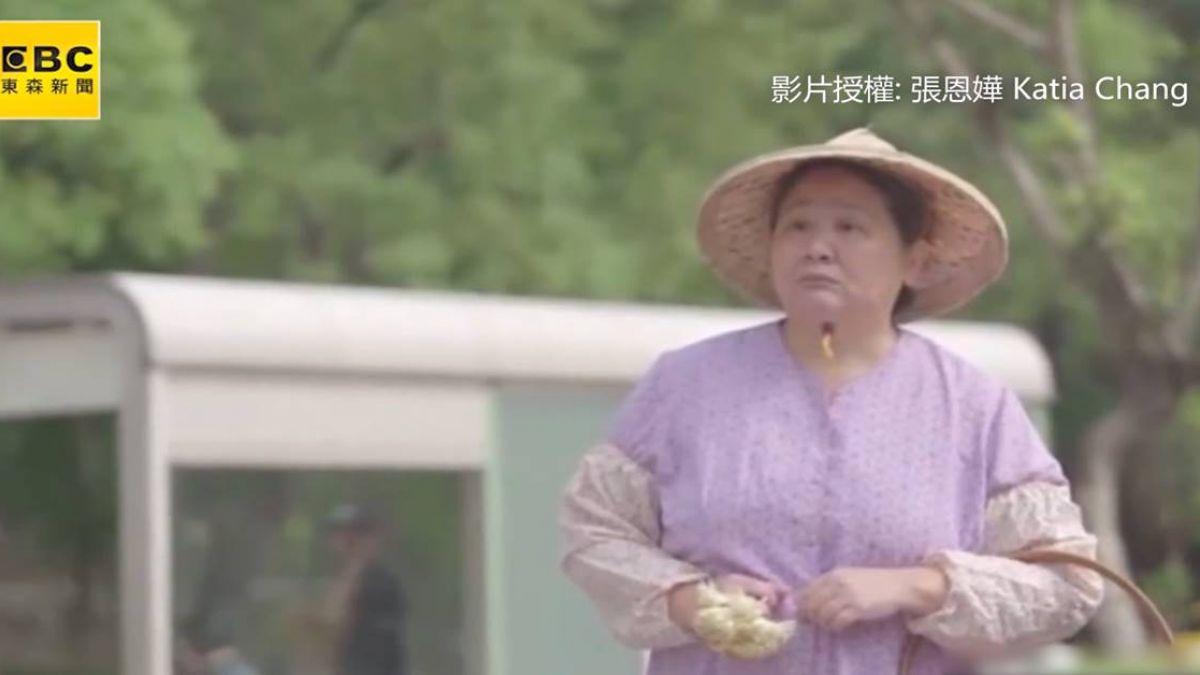 女子拒認賣花媽 1分鐘短片感動上萬網友