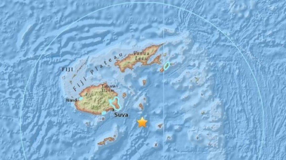 斐濟外海規模7.8深層強震  無重大海嘯危險