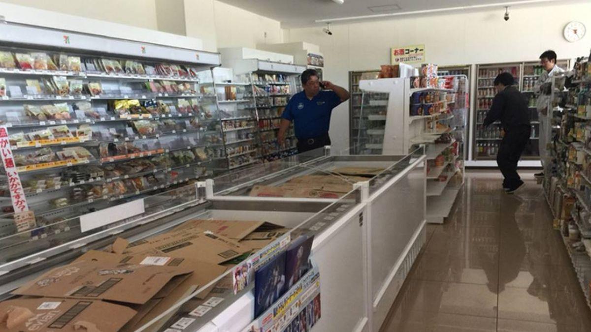 北海道地震驚魂  台遊客靠便利商店網路聯繫