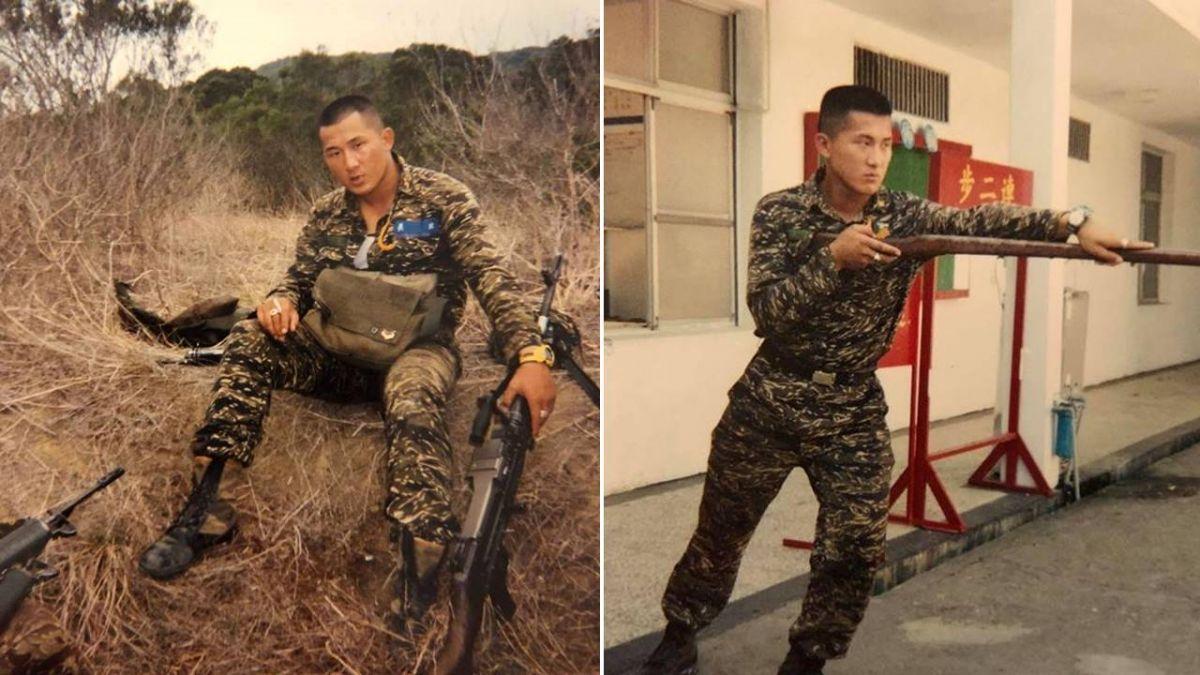 4 0秒KO特種部隊!館長貼「20歲陸戰訓練照」 網驚喊:學長好