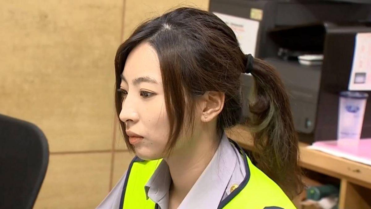 女警太正!171cm9頭身曾當鋼琴老師 攔違規駕駛先道歉