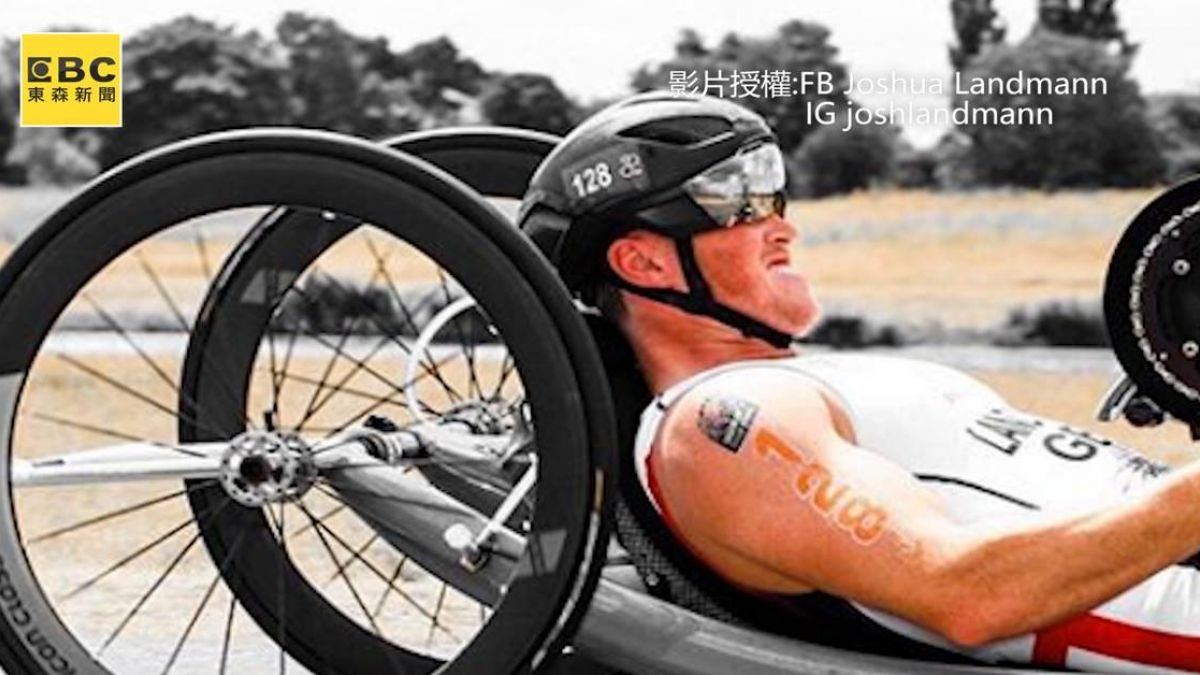 永不低頭!他挺過半身癱瘓 成殘奧輪椅競速好手