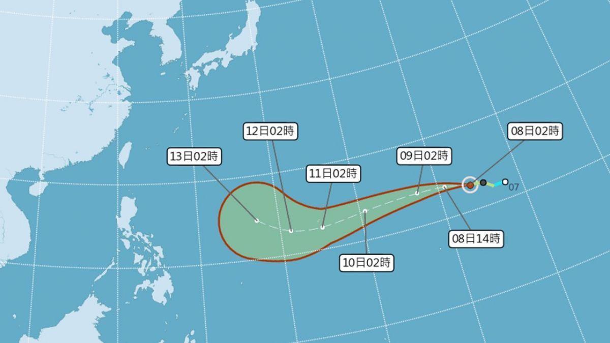 「山竹」生成!美專家:下周末恐以強颱侵襲 氣象局給答案了