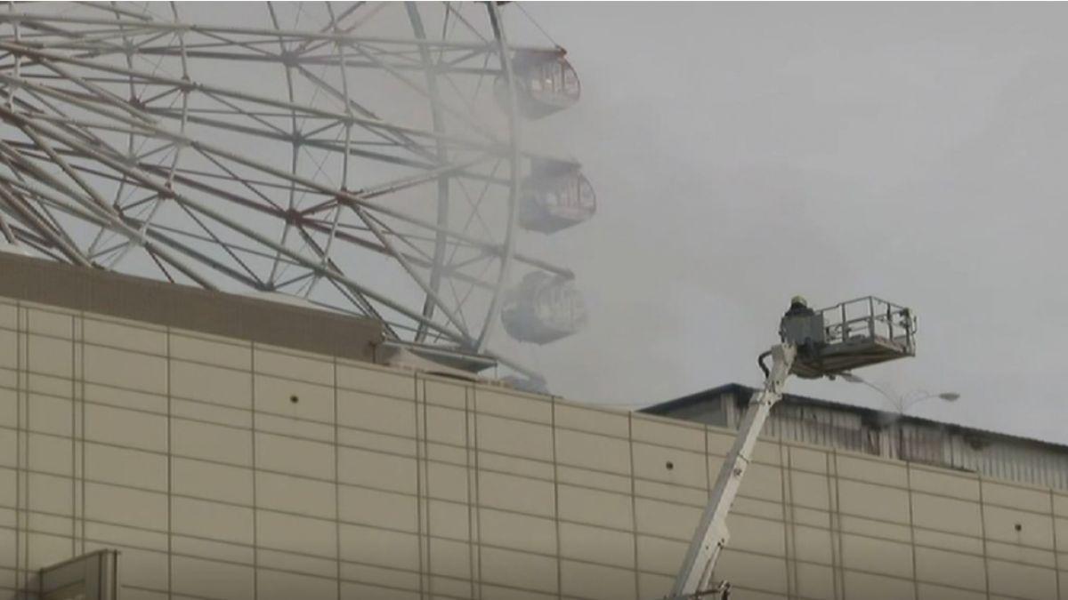 遊樂區疑電線走火 夢時代:不影響營運