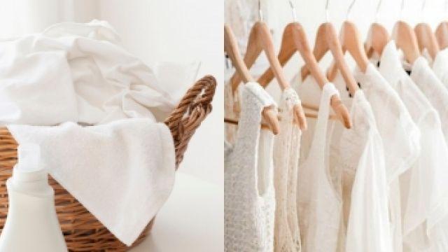 白衣控必讀!掌握4大秘訣 還給衣服最初的純白