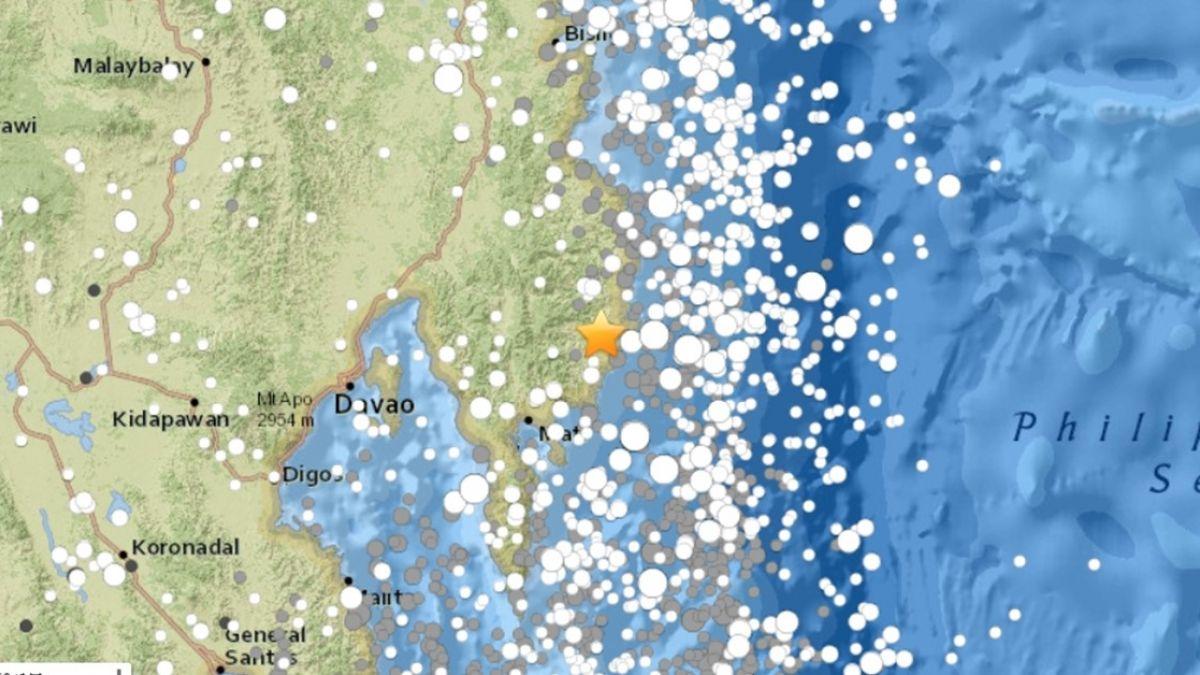 菲律賓南部傳規模6.1地震 暫未傳災情