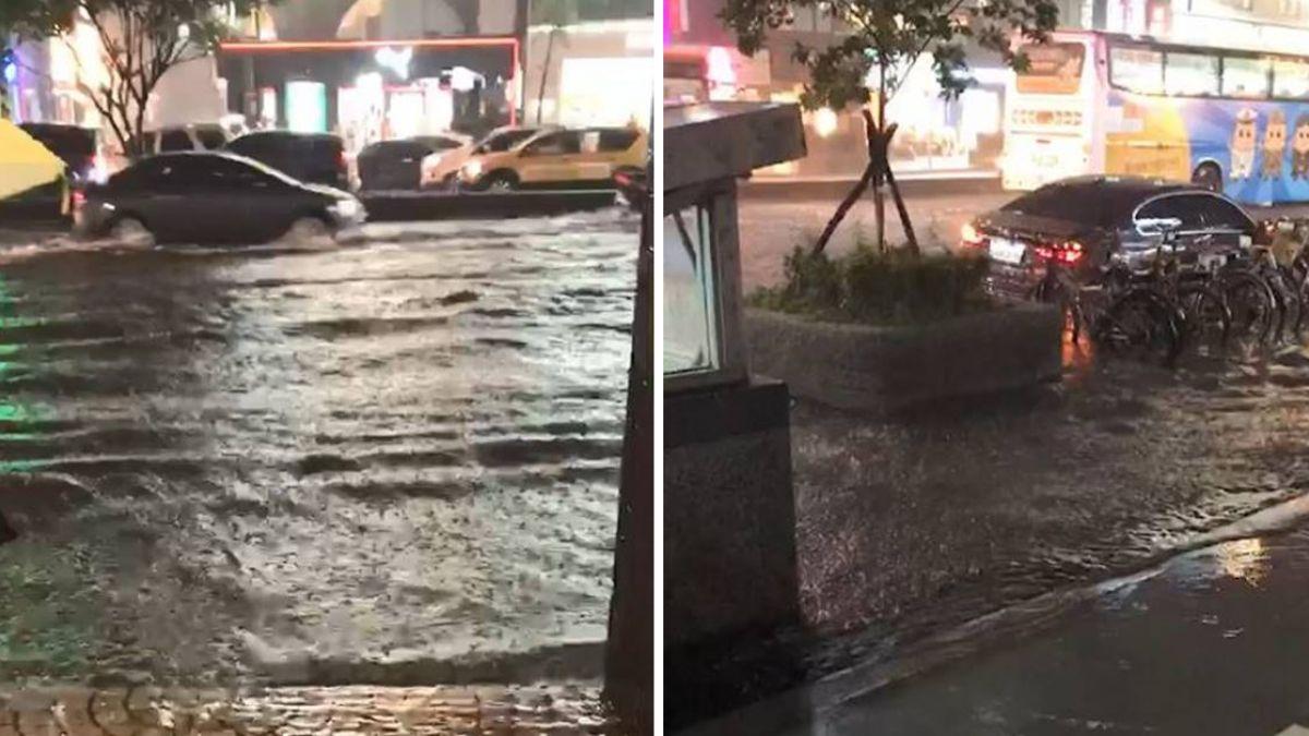 【不斷更新】東門捷運站地下連通道淹水!水深難測最快9日開放