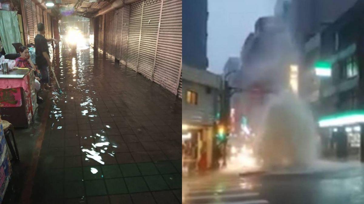 暴雨轟炸如災難!北市府「未達停班標準」網罵翻