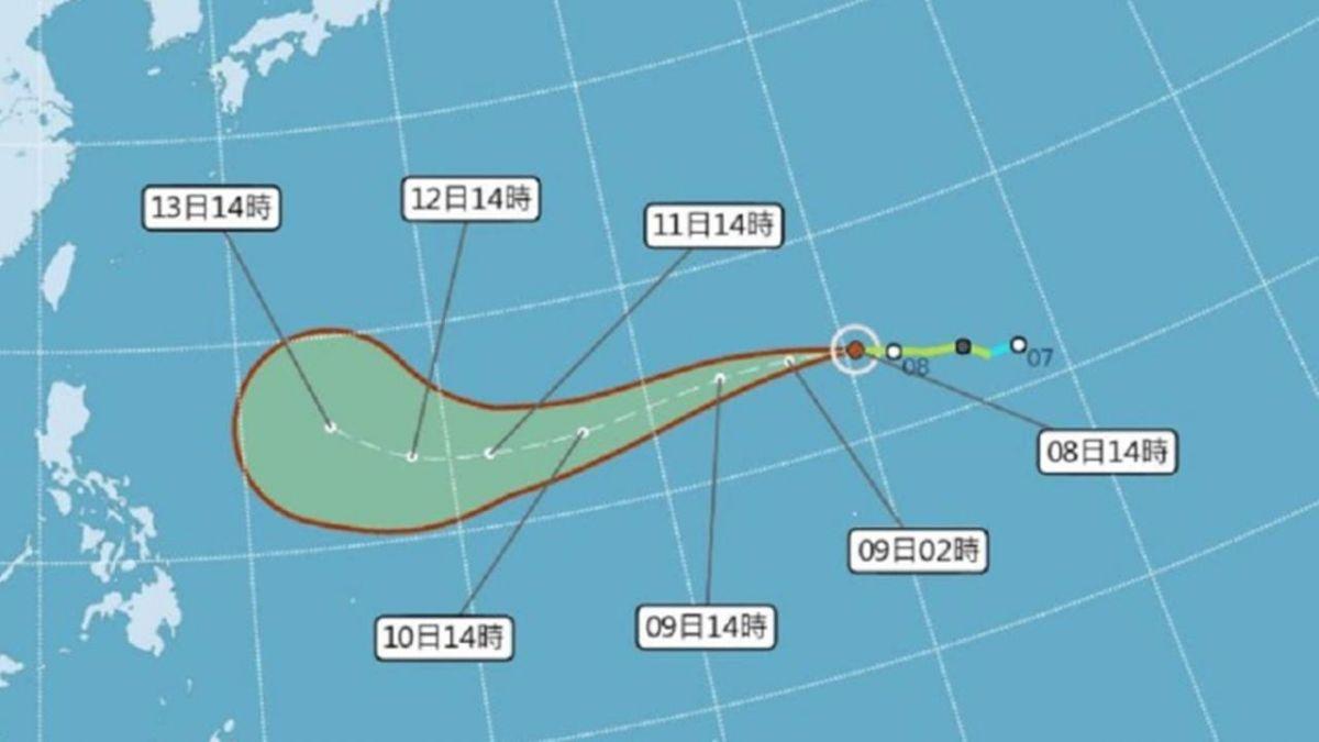 暴雨轟炸北台!「最強颱風」恐連下5天…這幾天最靠近