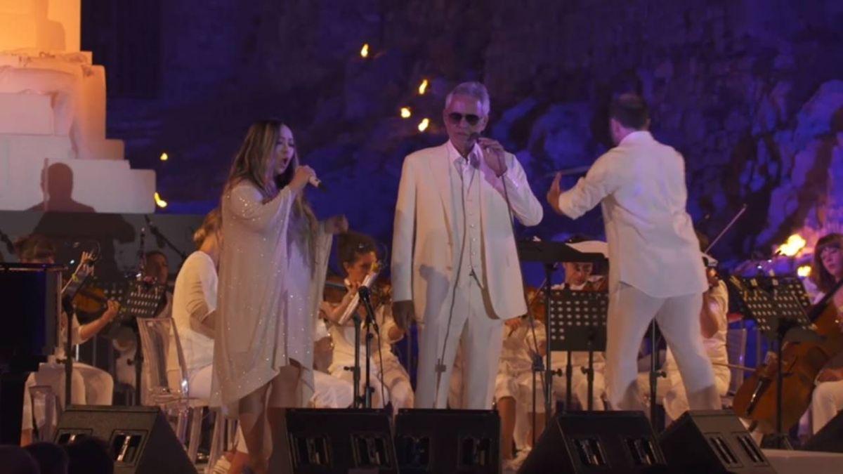 阿妹再登國際舞台 和男高音波伽利高歌一曲