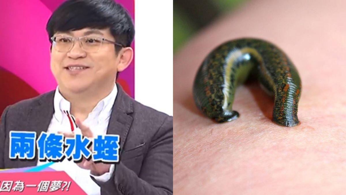 神預測!他「夢到蛇掉頭上」求診 醫傻眼:頭內藏2條水蛭