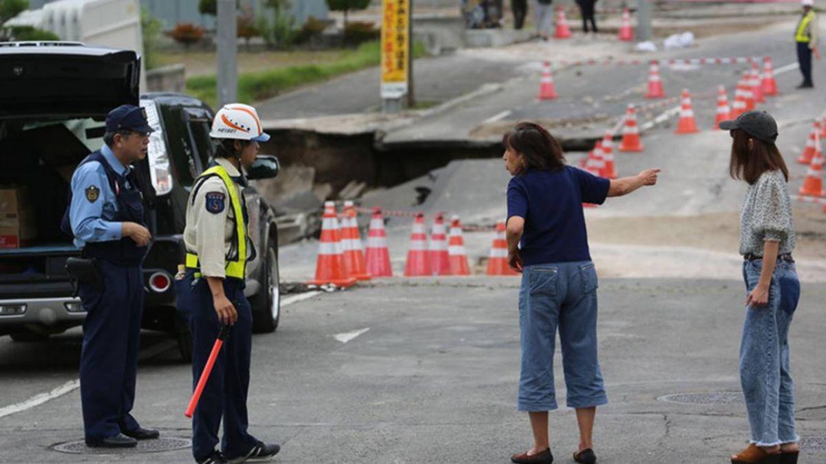 北海道強震42死 安倍撥5.4億日圓賑災