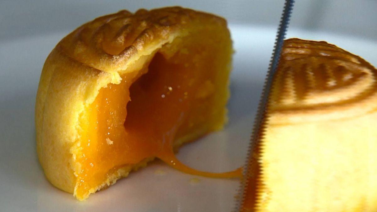 流沙奶黃月餅香濃 單顆熱量逾半碗白飯