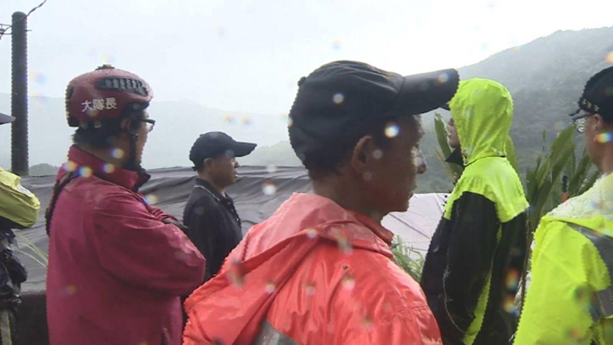 8號暴雨襲北台 夫妻陽明山失聯逾50小時