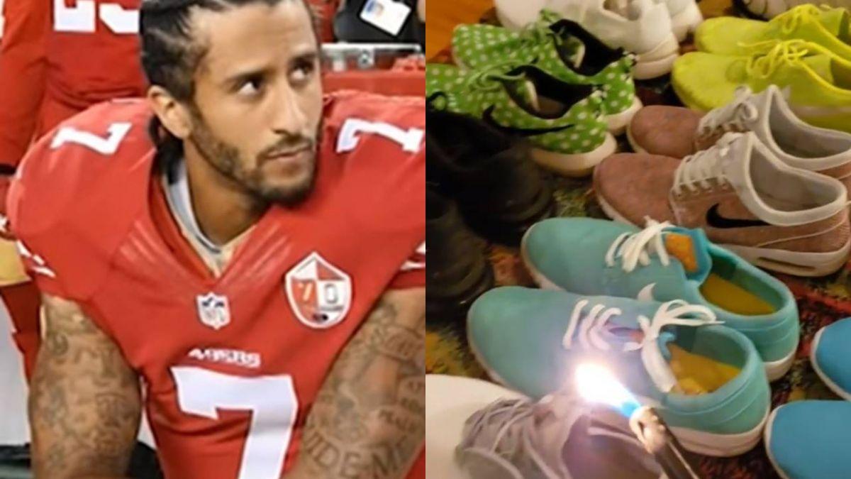 跟川普作對?「跪國歌」球星代言Nike 粉絲怒燒鞋抗議