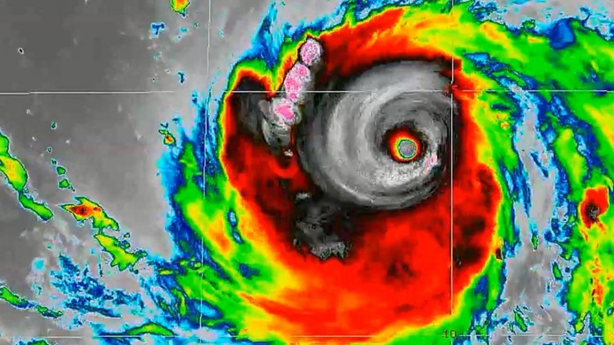 NASA拍「恐怖大眼」!強颱「山竹」周六最靠近台灣