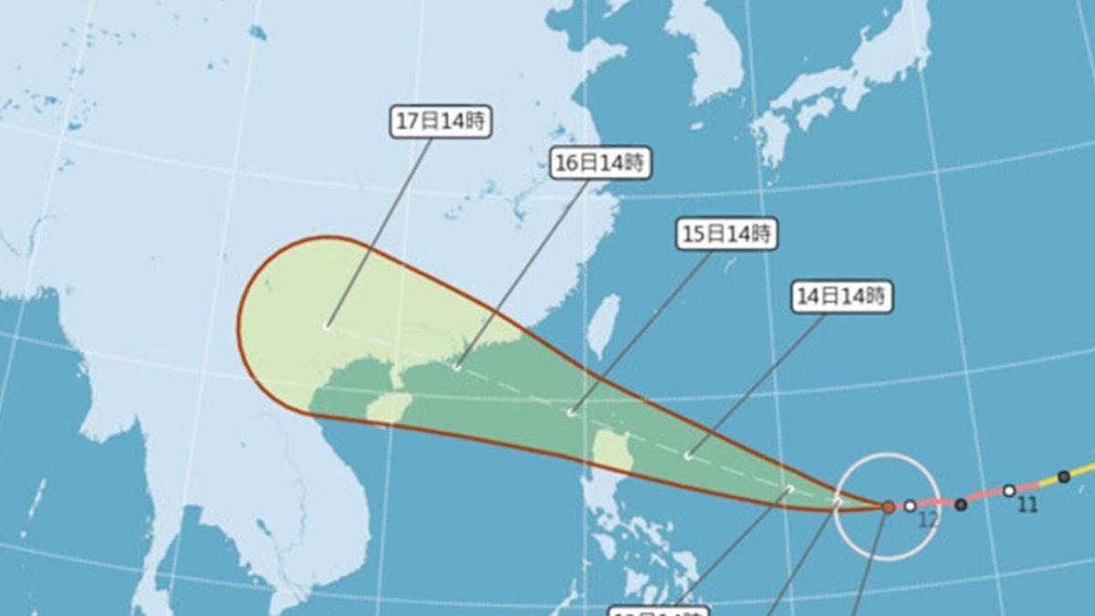 強颱山竹威力再增強! 「北中南東」影響程度出爐