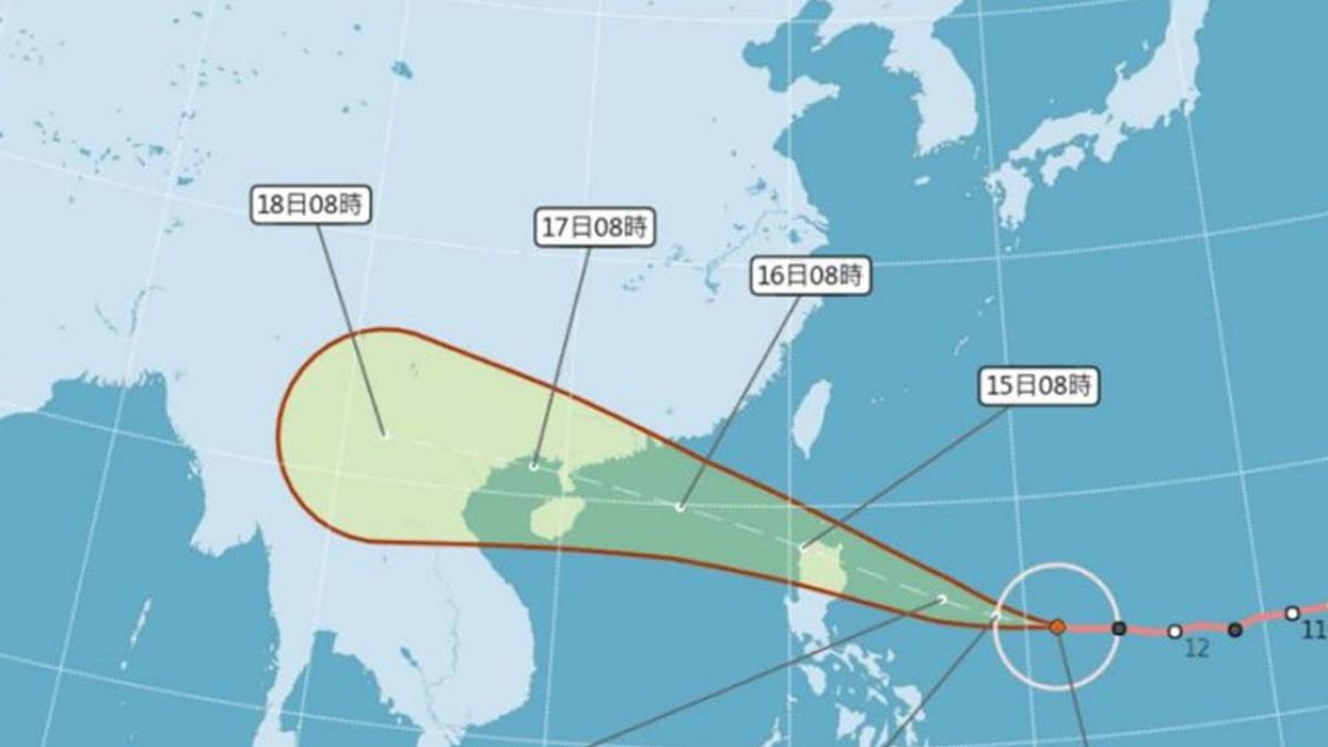 強颱山竹逼近有望放「颱風假?」 彭啟明給答案了