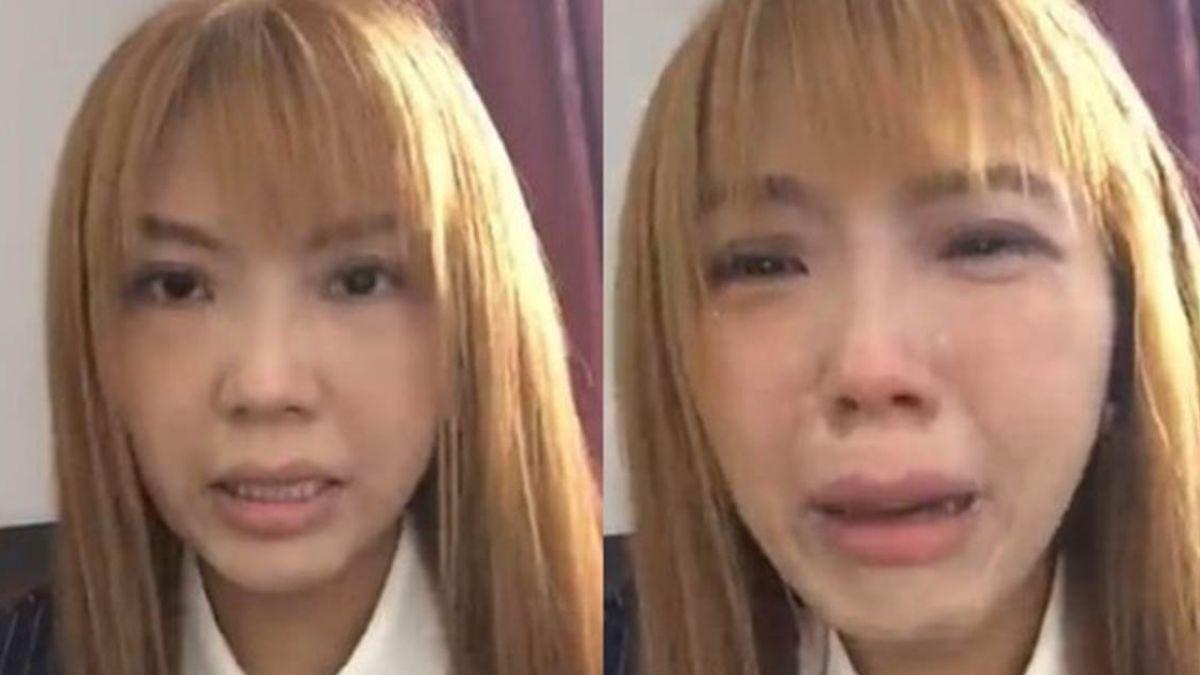 劉樂妍崩潰大哭驚爆是假的! 慘遭拆穿「暗黑真面目」