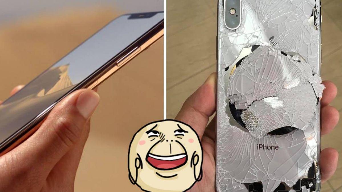蘋果派來的間諜?女友第3次摔壞iPhone  網笑瘋:很會挑時間