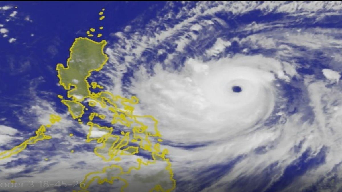 「山竹」颱風眼和香港差不多大!氣象局:發海警機率一半一半