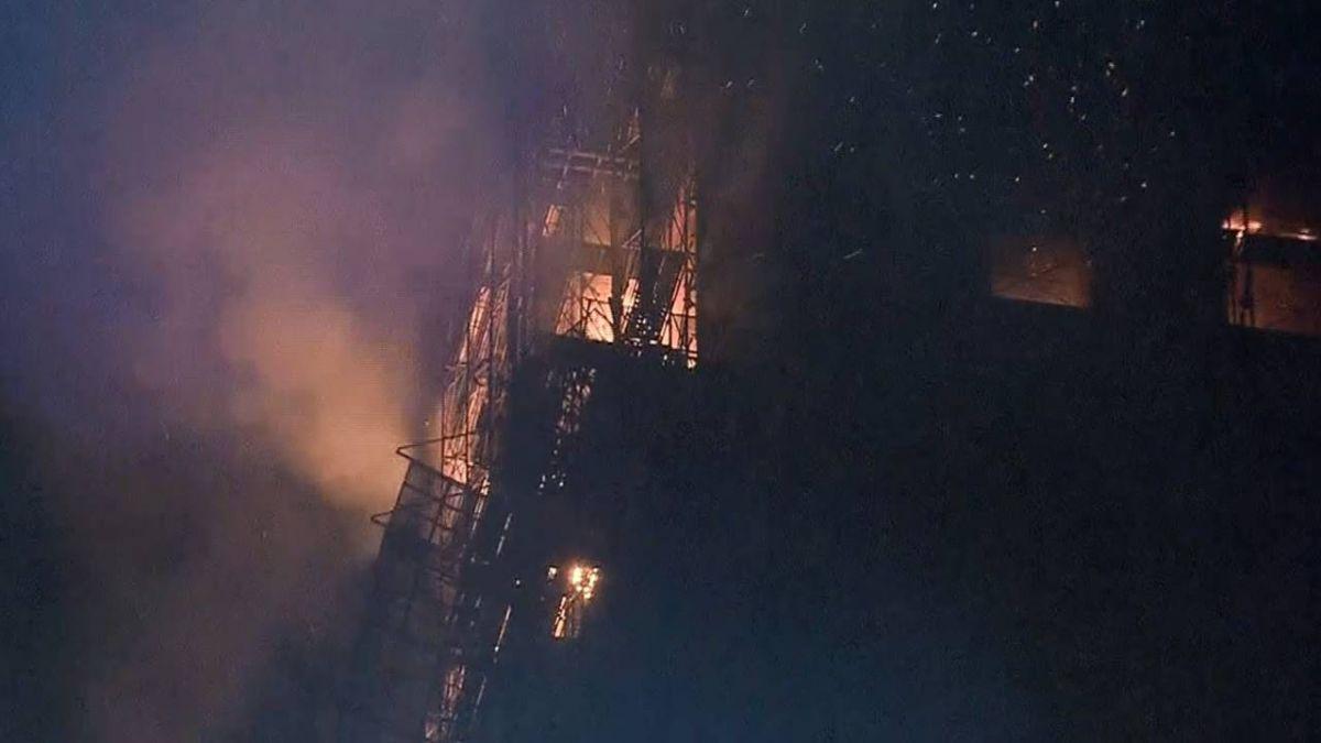 起火地點位於重劃區!至少有9間豪宅、3間學校