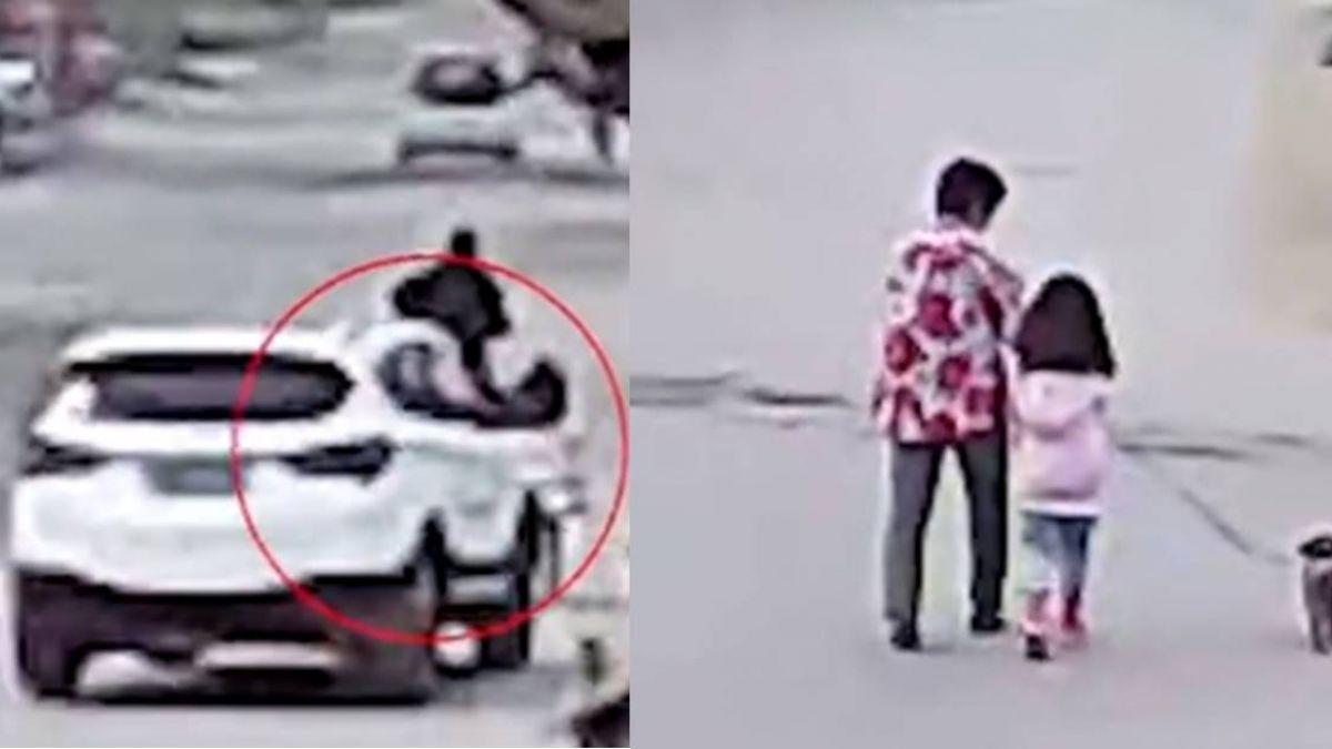 死亡直擊!開車中分心回頭訓斥女兒 女駕駛反輾斃別人家6歲童