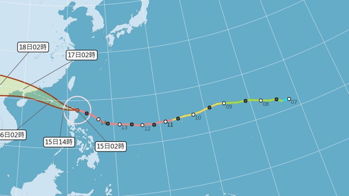 宛如2個世界!山竹「極限還沒到」 東南部防暴雨、西部恐飆38度
