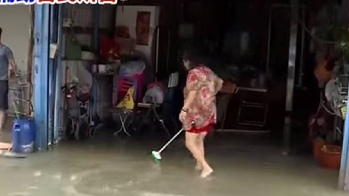 【獨家】同巷水淹50cm補助不同 居民質疑公所丈量太嚴