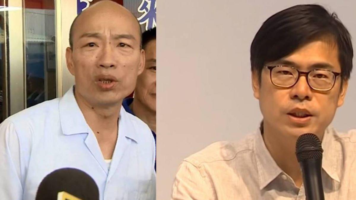 韓國瑜宣傳車播「西螺七崁」 陳其邁:與高雄無關