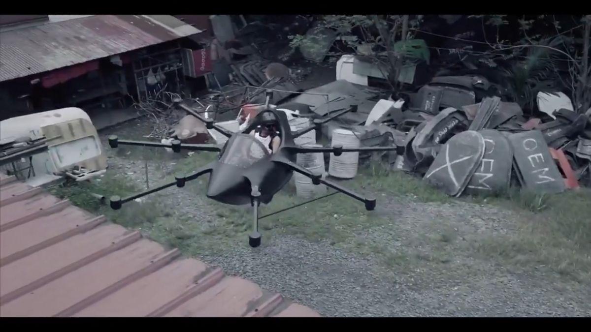 空中藍寶堅尼!菲工程師6年研發 讓你用「飛」的上班
