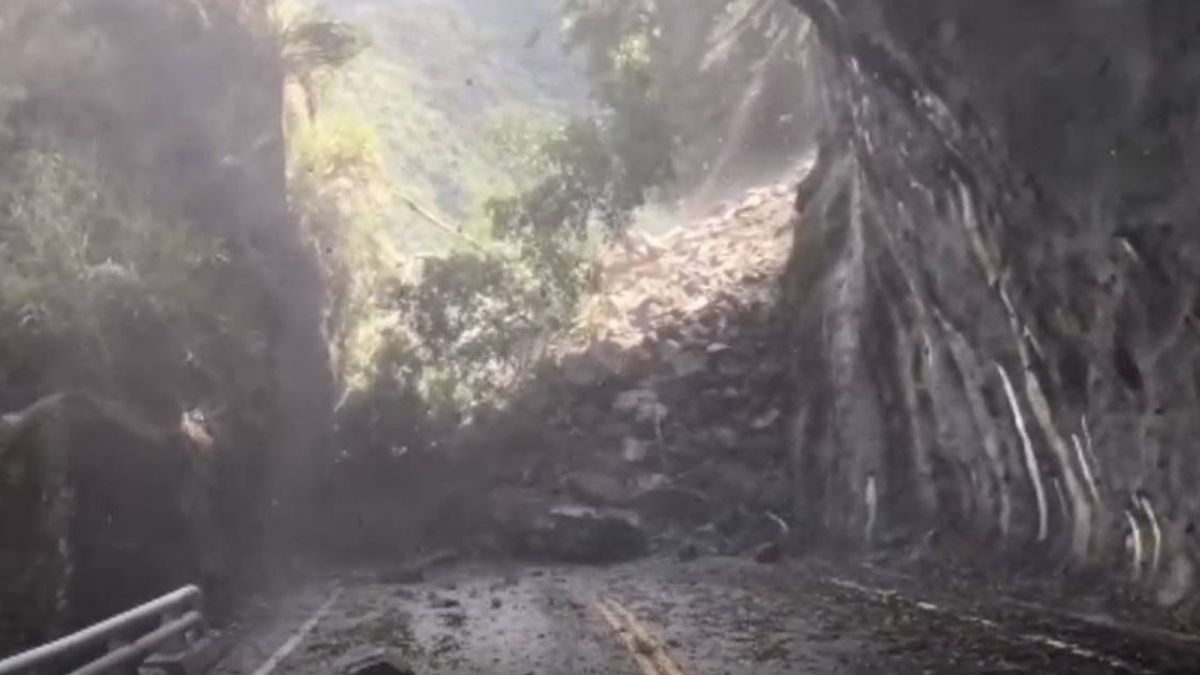 連日大雨土石鬆動!南橫公路177km坍方道路中斷