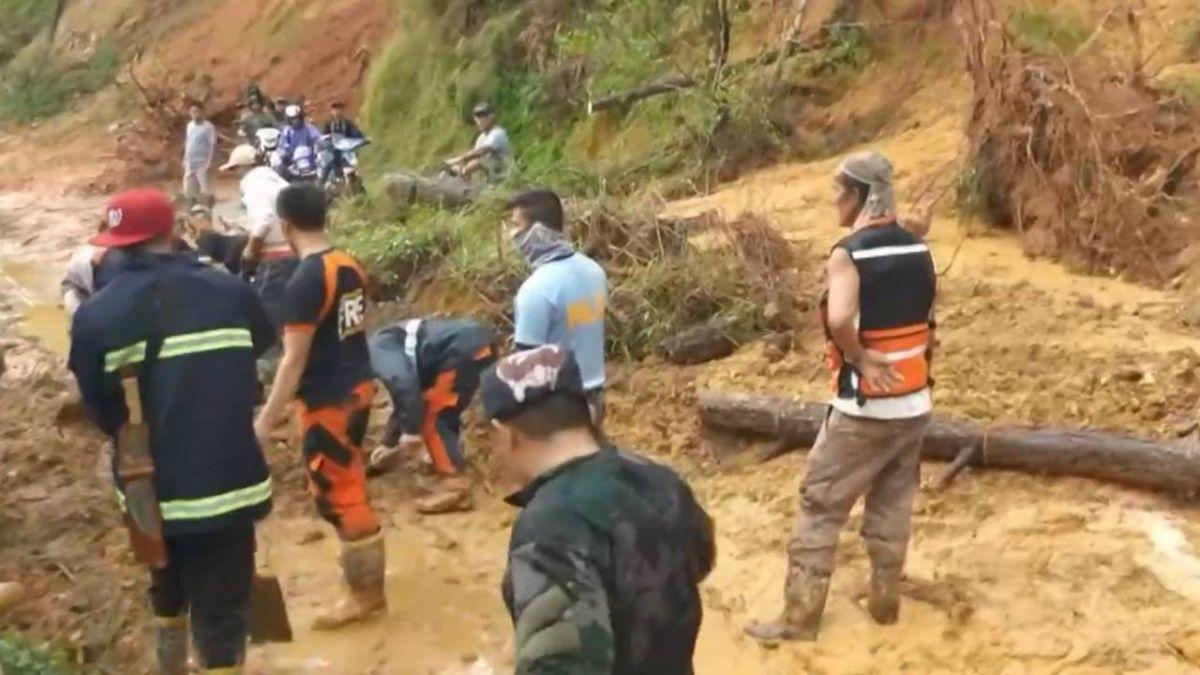 山竹暴雨造成土石流 菲律賓累計64死